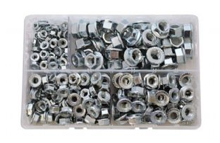 Connect 35015 225 Piece Assorted Metric Flange Nuts Box